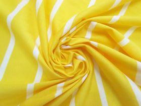 Great value Stripe Cotton Blend Knit-  Zesty Lemon #5197 available to order online Australia