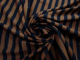 Great value Choc Liquorice Stripe Cotton Knit #5205 available to order online Australia