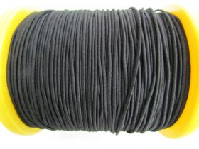 Great value 2mm Round Elastic- Black #500 available to order online Australia