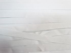 Great value 15mm Designer Grosgrain Ribbon- White #514 available to order online Australia