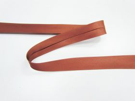 Great value 19mm Satin Bias Binding- Dark Copper #661 available to order online Australia