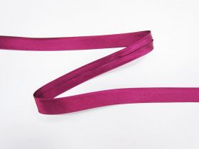 Great value 10mm Satin Bias Binding- Bright Burgundy #622 available to order online Australia