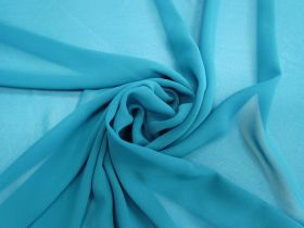 Great value Lightweight Georgette- Jade Blue #3557 available to order online Australia