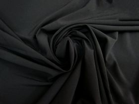 Great value Stretch Crepe De Chine- Black #5256 available to order online Australia