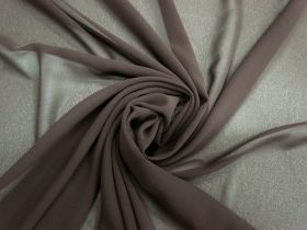 Great value Lightweight Georgette- Chocolate Bar #3556 available to order online Australia