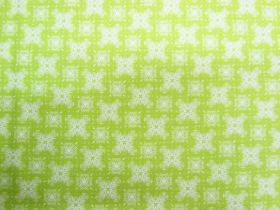 Great value Aussie Bush Christmas Cotton- Lime #0125-F3 available to order online Australia