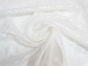 Great value Lightning Strike Chiffon- White #5263 available to order online Australia
