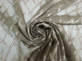 Great value Lightning Strike Chiffon- Taupe #5261 available to order online Australia