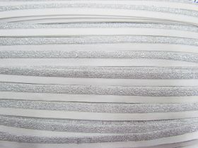 Great value Sparkle Metallic Silver Fold Over Elastic #021 available to order online Australia
