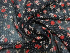 Great value Rosy Viscose Chiffon #5279 available to order online Australia