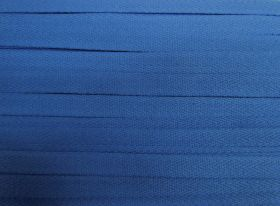 Great value 15mm Cotton Webbing Tape- Mid Blue #391 available to order online Australia