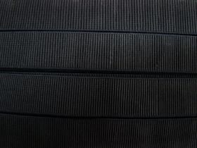 Great value 38mm Elastic- Ribbed Black #525 available to order online Australia