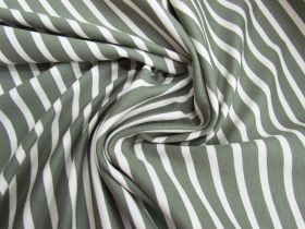Great value Palm Stripe Cotton Ponte #1524 available to order online Australia