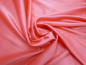 Great value Lightweight Stretch Satin- Coral Pink #1170 available to order online Australia