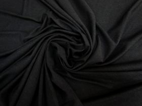 Great value Soft Rayon Cotton Blend Jersey- Black #5338 available to order online Australia