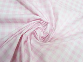 Great value Gingham Cotton- Baby Pink #5339 available to order online Australia
