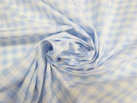 Great value Gingham Cotton- Blue #5342 available to order online Australia