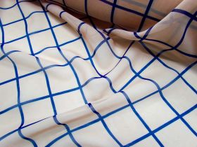 Great value Hollywood Agent Check Chiffon available to order online Australia