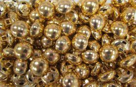 Great value Gold Domed Couture Buttons- CB231 available to order online Australia