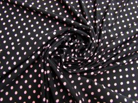 Great value Polka Dot Jersey- Pink On Black #5353 available to order online Australia