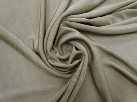 Great value Shiny Ribbed Jersey- Seed Brown #5355 available to order online Australia