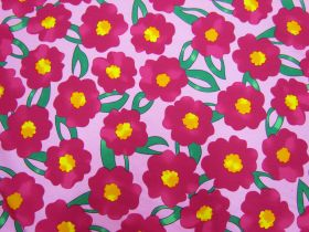 Great value Pop Flower Cotton- Pink #5375 available to order online Australia