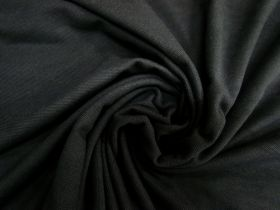Great value Cotton Pique Knit- Mineral Black #5376 available to order online Australia