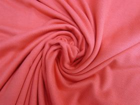 Great value Cotton Pique Knit- Pink Grapefruit #5377 available to order online Australia