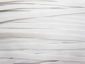 Great value Budget Elastic- 12mm Ribbed- White available to order online Australia