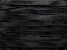 Great value Budget Elastic- 12mm Ribbed- Black available to order online Australia