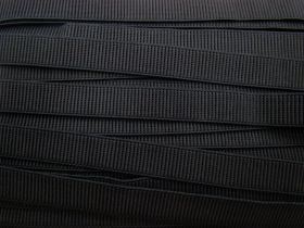 Great value Budget Elastic- 20mm Ribbed- Black available to order online Australia