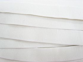 Great value Budget Elastic- 32mm Ribbed- White available to order online Australia