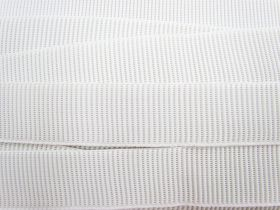 Great value Budget Elastic- 38mm Ribbed- White available to order online Australia