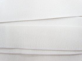 Great value Budget Elastic- 50mm Ribbed- White available to order online Australia
