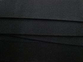 Great value Budget Elastic- 50mm Ribbed- Black available to order online Australia