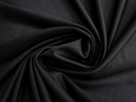 Great value Micro Mesh Moisture Management Sports Knit- Black #1662 available to order online Australia