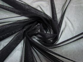 Great value Soft Stretch Mesh- Black #1692 available to order online Australia
