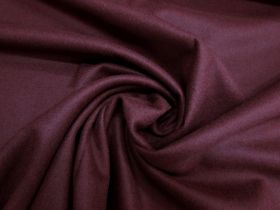 Great value Wool Flannel Coating- Manhattan Maroon #5431 available to order online Australia