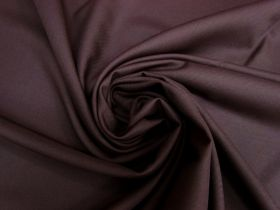 Great value Wool Blend Twill Suiting- Dark Plum #5435 available to order online Australia