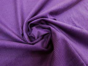 Great value 7 Wale Cotton Corduroy- Violet Purple #5453 available to order online Australia