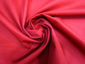 Great value 7 Wale Cotton Corduroy- Candy Apple Red #5454 available to order online Australia