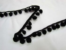 Great value Designer Pom Poms- Black available to order online Australia