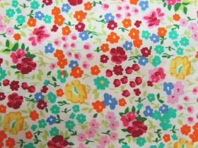 Great value Flower Festival Cotton PW1311- Yellow available to order online Australia