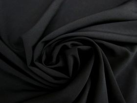 Great value Double Faced Chiffon- Black #3958 available to order online Australia