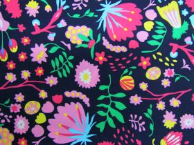 Great value Wild Blooms Cotton- Navy PW1294 available to order online Australia