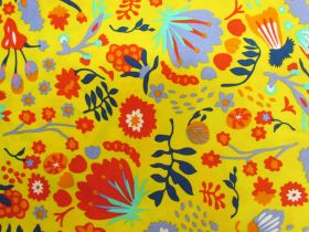 Great value Wild Blooms Cotton- Yellow PW1296 available to order online Australia