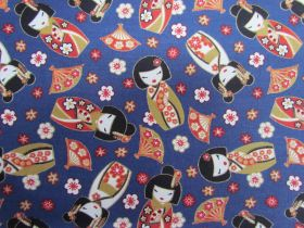 Great value Sakura Dolls Cotton- Blue #5457 available to order online Australia