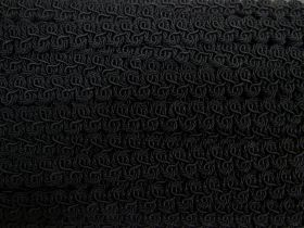 Great value 17mm Viscose Braid Trim- Black #529 available to order online Australia