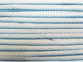 Great value 14mm Scolloped Cotton Trim- Blueberry #535 available to order online Australia