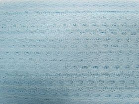 Great value 19mm Ribbon Insertion Lace Trim- Baby Blue #536 available to order online Australia